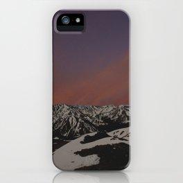 Sunset on Elbert iPhone Case