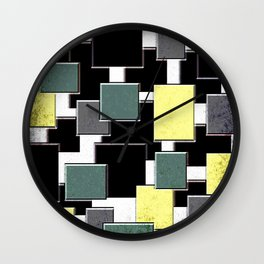 Ingots Wall Clock