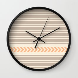 Sweet Lines Wall Clock
