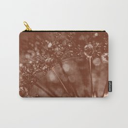 Dandelion (brown) Carry-All Pouch