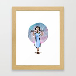 Katherine Johnson Framed Art Print