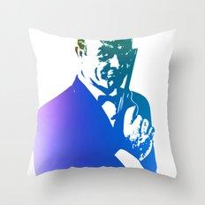 James Bond - True Blue Throw Pillow