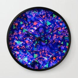Abstract modern Memphis design Wall Clock