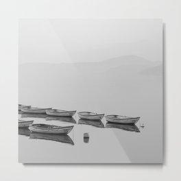 Boats Metal Print