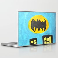 bat Laptop & iPad Skins featuring Bat by Marialaura