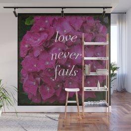 hydrangea - love never fails Wall Mural