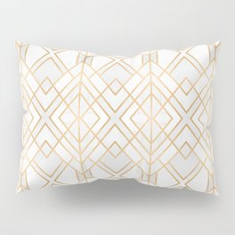Golden Geo Pillow Sham