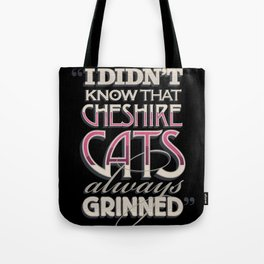 Cheshire Cats Tote Bag