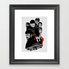 F. Framed Art Print