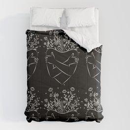 Self love blooming  Comforters