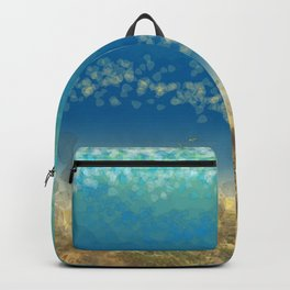 Abstract Seascape 04 wc Backpack