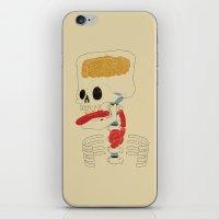 Square Skull...   iPhone & iPod Skin