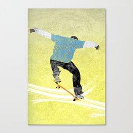 Skateboard 3 Canvas Print