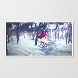 Negua/Invierno/Winter Canvas Print
