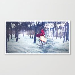 Negua/Invierno/Winter Canvas Print