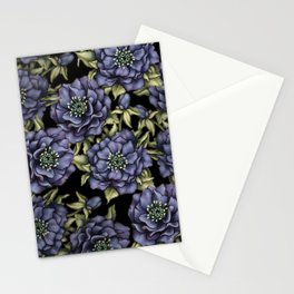 Roses in the Dark Stationery Cards