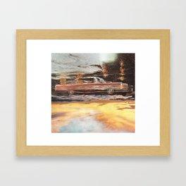 It Drives Like A Dream Framed Art Print