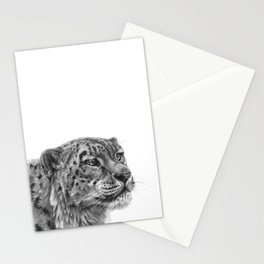 Snow Leopard G095 Stationery Cards