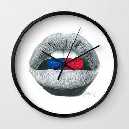 Love Pills Wall Clock