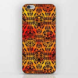 Pattern with African Mask iPhone Skin