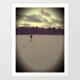 Cold Days Art Print
