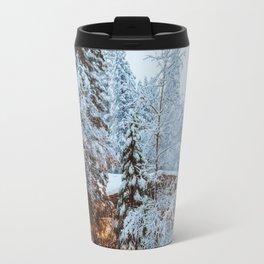 Yosemite Snow Storm Travel Mug