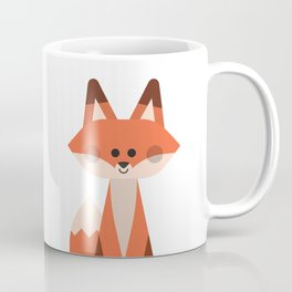 Minimal Fox Coffee Mug