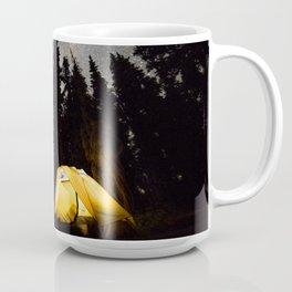Camping at Mount Rainier NP Coffee Mug
