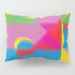 Pop Art Expression Pillow Sham