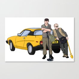 Detectorists - Lance & Andy - DMDC Canvas Print