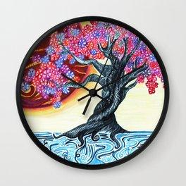 Japanese Jupiter Wall Clock
