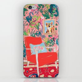 Red Chair iPhone Skin