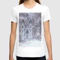 castle T-shirts featuring Castle by Simone Gatterwe