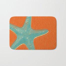 Starfish - Orange Bath Mat