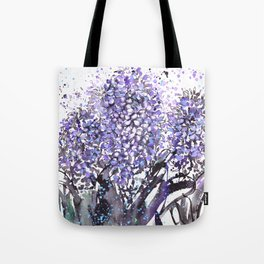 Sumie No.13 hyacinth Tote Bag