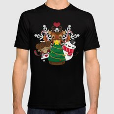 Merry Christmas Chestnut Girl!!! Black Mens Fitted Tee MEDIUM