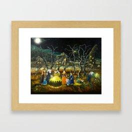 The Lesson Framed Art Print