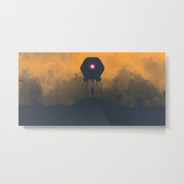 Technomystery Metal Print