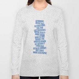Oxymorons Long Sleeve T-shirt