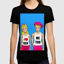 I Love Ken! Me Too! Funny, Gay/Queer Pop Art T-shirt