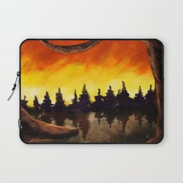 Forest on Fire Laptop Sleeve