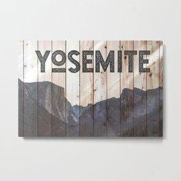 Yosemite National Park California Metal Print