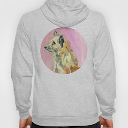 Marvelous Mystery Mutt Dog Portrait Hoody