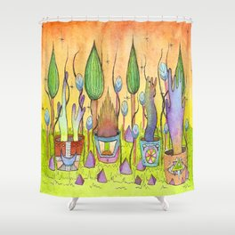 Dream Garden 1 Shower Curtain