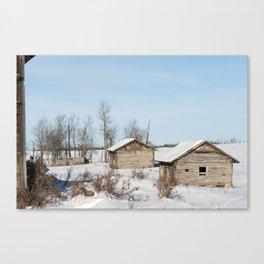 Noon Sun Farm 18 Canvas Print