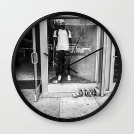 Lonely Shoes Wall Clock