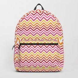 Rainbow Chevron #1 Backpack