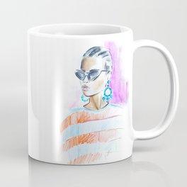 Watercolor girl Coffee Mug