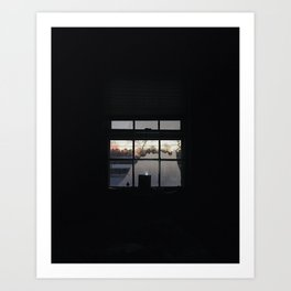 Chesterfield / Morning Window Art Print