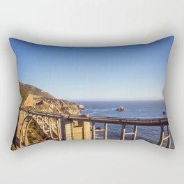 Bixby Creek Bridge Rectangular Pillow